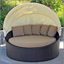 home design impressive outdoor round lounge chair wicker daybed