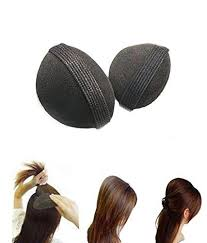 hair puff accessories homeoculture combo of 7 hair accessories 3 donuts 1 magic puff 1
