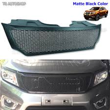 nissan frontier front bumper front grill black net grille fit nissan frontier navara ute np300