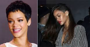 pixie to long hair extensions rihanna hair extensions after shaved head 2013 flare