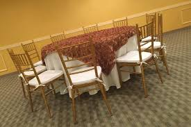 athena center dining table gold gold chiavari chairs for the athena ballroom