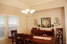 Lighting For Dining Room by Fascinating Design Ideas Using Round Brown Wooden Bench And