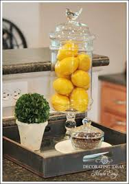 decorating idea for kitchen glass container thinking home