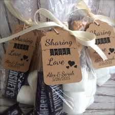 bulk wedding favors bulk s more personalized wedding favor tags for a