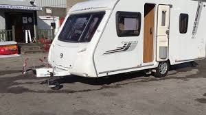 Small Caravan by Swift Charisma 535 2009 Small Fixed Bed Touring Caravan North