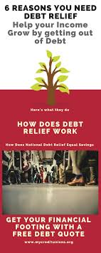 Debt Relief Options Explore Your Options Find Your 6 Reasons You Deserve Debt Relief Personal Finance Frugal Living