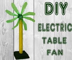 how to make a fan how to make table fan from plastic soda bottle diy simple electric fan