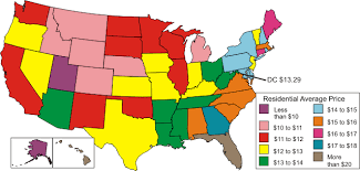map us gas prices residential gas prices a consumer s guide electricity