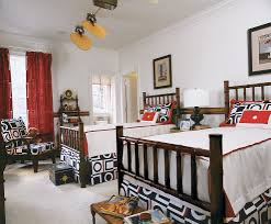 nautical window treatments bedroom traditional with bed spread