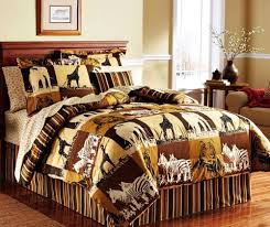 Cheetah Print Comforter Queen African Safari Print Bedding U2013 Ease Bedding With Style