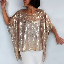 gold blouse plus size plus size gold tunic kimono sheer poncho evening formal special