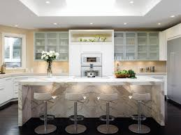 white marble kitchen island white marble waterfall kitchen island ellajanegoeppinger