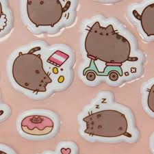 pusheen earrings pusheen cat stickers s