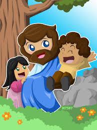 jesus loves children by blackmolecule on deviantart