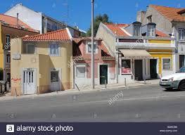 row houses row houses in belém lisbon portugal stock photo royalty free