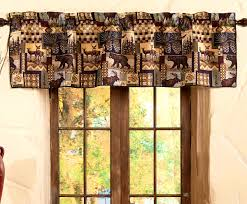 bathroom delectable rustic curtains cabin window treatments