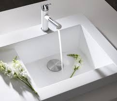 White Kitchen Faucet by Decorating Charming Stainless Steel Blanco Sinks And Matching