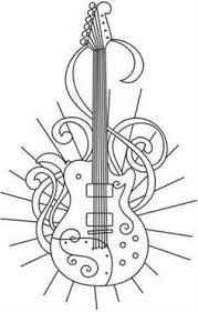 merry go round coloring pages free printable coloring pages for summer guitars digi stamps