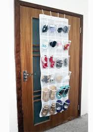 Shoe Rack For Closet Door Diy Hanging Overdoor Mount Shoes Organizers Closet Door Plastic