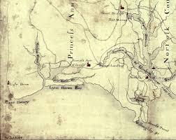 Virginia Coast Map by Burning Of Norfolk Wikipedia