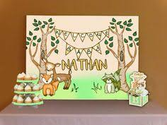 woodland creatures baby shower decorations woodland creatures baby shower invitations welcome sign buffet