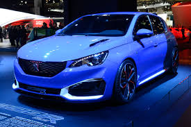 etcm claims first hybrid mpv 493bhp peugeot 308 r hybrid at frankfurt auto express