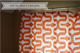 No Curtains Diy No Sew Curtains Glasses And Glitter