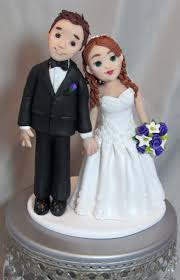 wedding cake toppers and groom unique wedding cake toppers feats of clay topes geniales