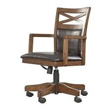 Home Office Desk Chairs by Signature Design By Ashley H565 01a Burkesville Home Office Desk
