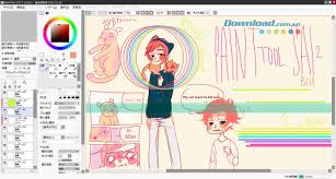 download sai painttool 1 2 0 software for pc draw cute chibi