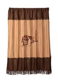 amazon com western cowboy praying cowboy fabric shower curtain