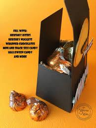 Halloween Chocolate Gifts It U0027s Written On The Wall Halloween Pumpkin U0026 Bat Treat Boxes