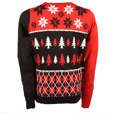 calgary flames busy block ugly sweater
