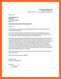 cover letter internship soap format