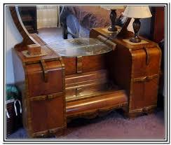 Vanity Dresser With Mirror Antique Vanity Dresser With Round Mirror Round Designs