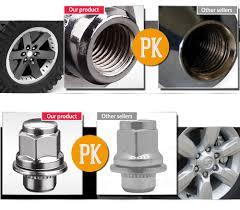 lexus steel wheels 20 chrome oem factory 12x1 5 wheel lug nuts mag seat w washer for