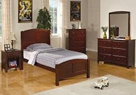 coaster bedroom set amazon com parker collection coaster 6pc bedroom set youth