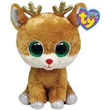 amazon ty beanie boos alpine reindeer toys u0026 games