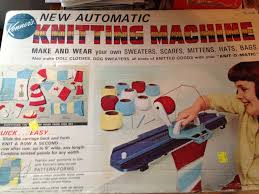knitting machine unravelling argyle