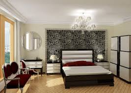 decoration low profile platform bed silver black wallpaper puffy