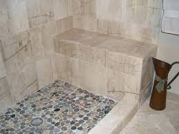 pebble tile shower floor brokenshaker