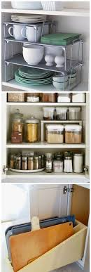 kitchen cupboard organizing ideas 11 smart tricks for small space living kitchen shelves shelving
