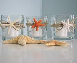 decor starfish candle votives shell candle votive holders