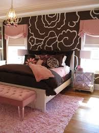 bedroom with brown wallpaper decorating room ideas general what are pink and brown bedroom ideas quora