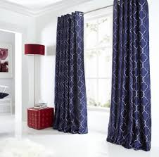 White And Navy Curtains Uncategorized Navy Blue And White Curtains Within Impressive