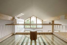 bureau architecte qu ec un toit comme une aile en invitation au voyage et au séjour fftb
