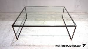 Glass Topped Coffee Tables Glass Top Metal Coffee Table Rascalartsnyc