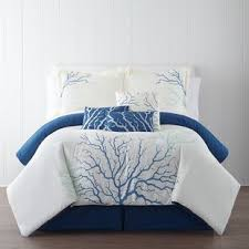 turquoise coral bedding wayfair