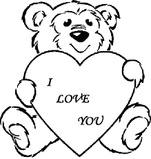 Coloring Pages Teddy Bears Click The Wreath Of Teddy Bears Coloring Book Page