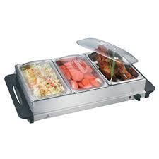 nj 9003 buffet warmer food server stainless steel 3x2 5l pan